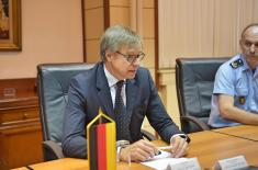 Enhancement of defence cooperation with Germany