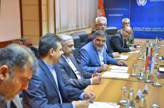 Министар Вулин примио заменика министра одбране Ирана Калантарија