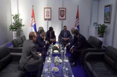 """Састанак министра Вулина са директором компаније """"Ербас"""""""