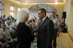 """Promotion of the book """"The Journal of a War Surgeon"""" by Dr. Miodrag Lazić held at the Officers"""