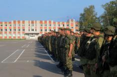 Pripadnici Vojske Srbije na vežbi Zapadnog vojnog okruga u Rusiji