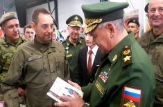 Министри Вулин и Шојгу на завршници Међународних војних игара у Русији