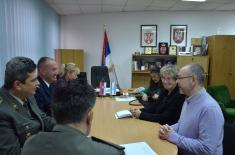 Visit from a Delegation of Israeli Memorial Centre to the Military Archive
