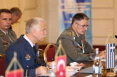 General Mojsilović at the Balkan Chiefs of Defence Conference