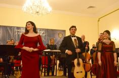 "Concert ""Giants of the Spanish Music-Writing"" at the Central Military Club"