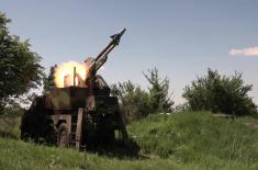 Test firing of RLN-IC FM-2 missiles