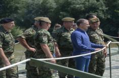 Министар Стефановић: Ојачаћемо Речну флотилу новим инвестицијама