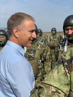 Вежба падобранских јединица Војске Србије и Оружаних снага САД