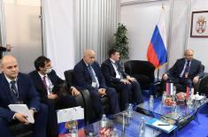 Minister Stefanović Talked to Deputy Director of Russian Federal Service for Military Technical Cooperation
