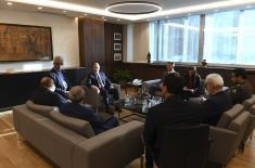 Sastanak ministra Stefanovića sa zamenikom ministra spoljnih poslova Irana