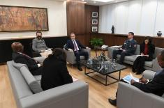 Sastanak ministra Stefanovića sa ministrom spoljnih poslova i međunarodne saradnje Ekvatorijalne Gvineje