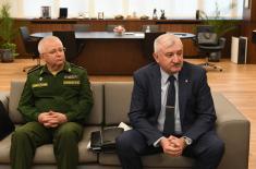 Sastanak ministra Stefanovića sa generalom Grehovim