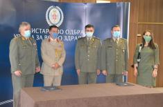 Донација медицинске опреме Министарства одбране Уједињеног Краљевства