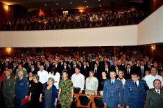 Свечаност поводом завршетка школовања 43. класе ученика Војне гимназије