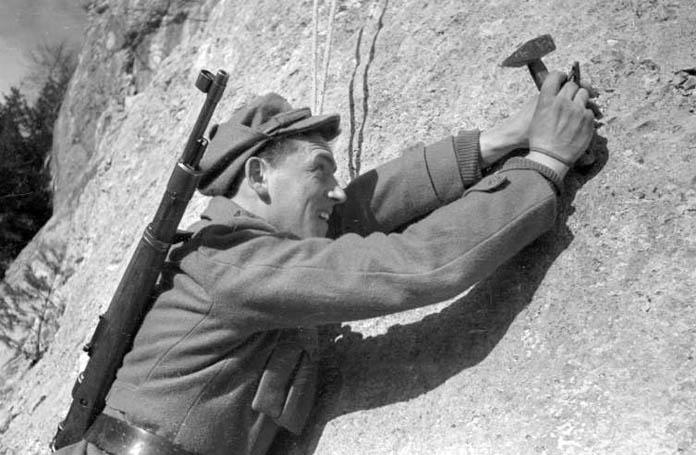 Обука у верању у 345. брдској бригади, Толмин, јануар 1952.