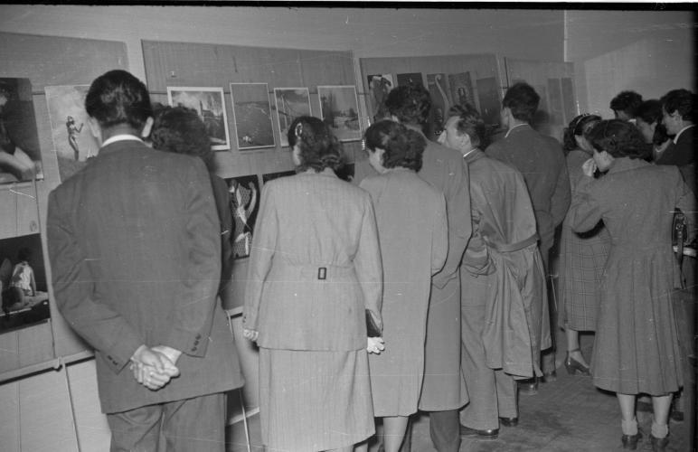 Изложба уметничких фотографија у Земуну 1952. године