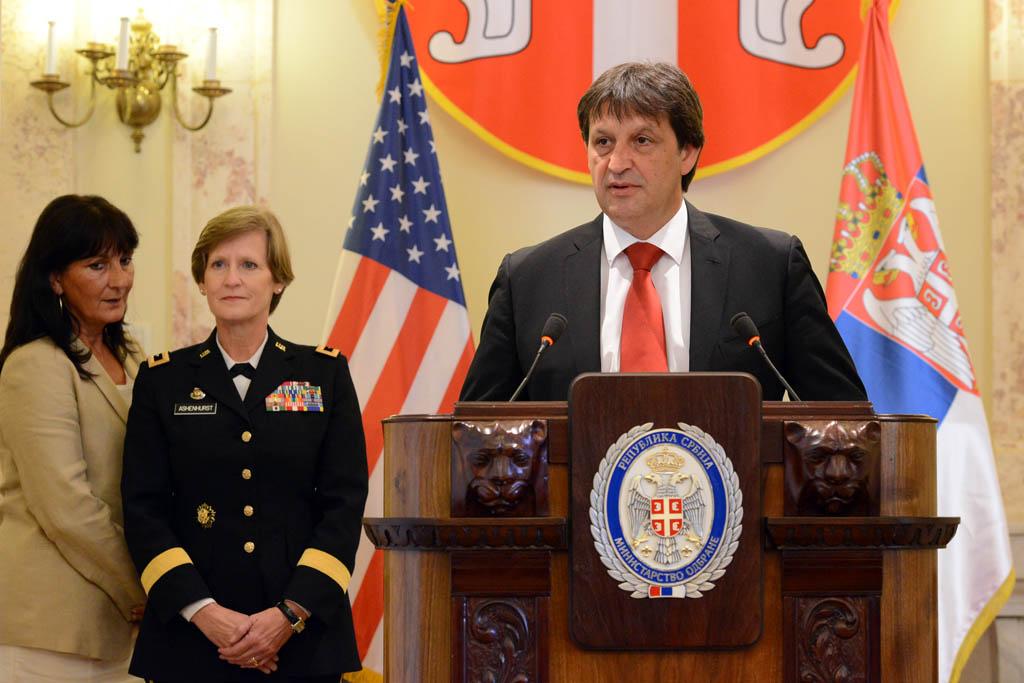 Susret ministra odbrane sa komandantom Nacionalne garde Ohajo