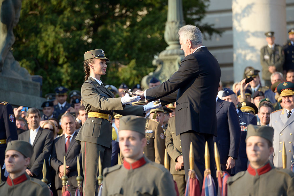 Promocija najmlađih oficira Vojske Srbije