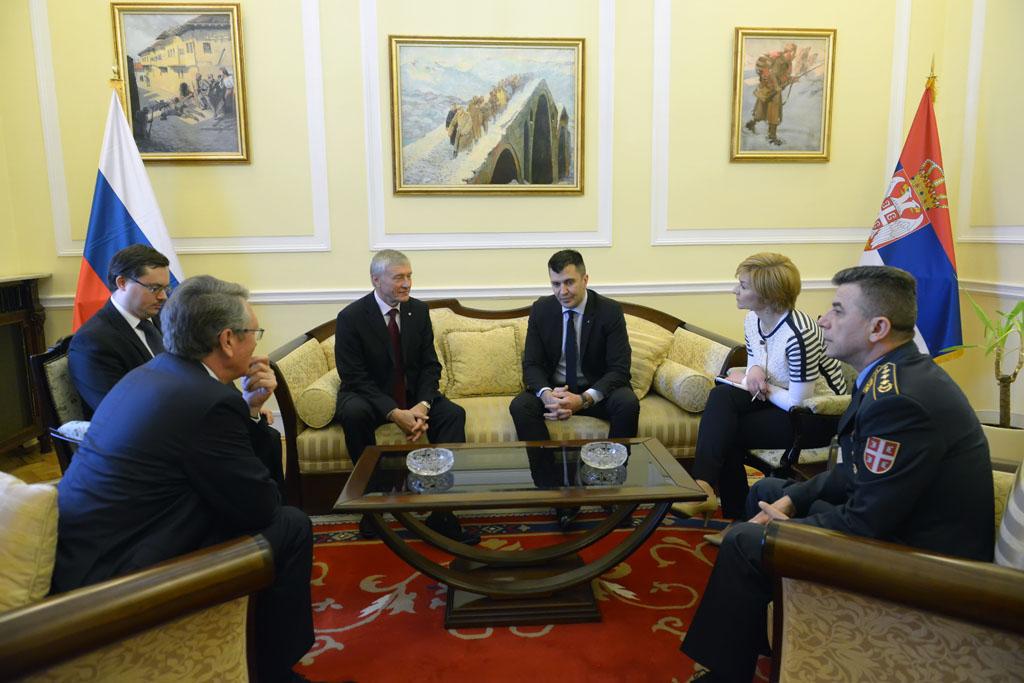 Ministar odbrane primio generalnog sekretara ODKB