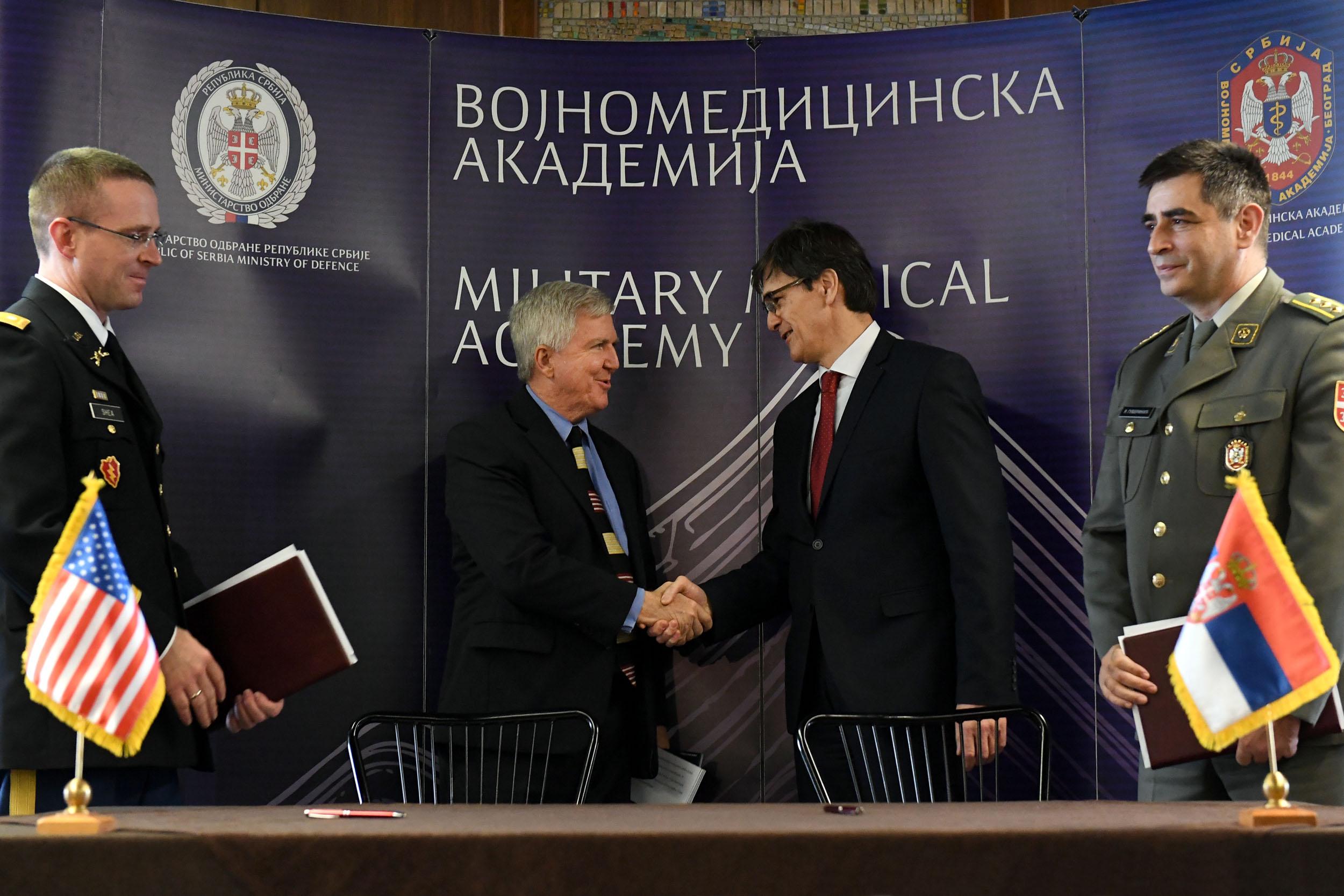 Потписивање Уговора о донацији на ВМА