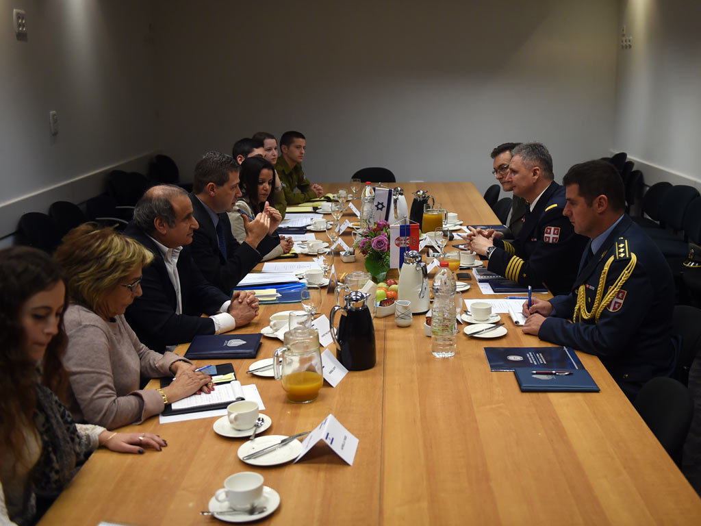 Bilateral defence consultations with Israel | Ministry of