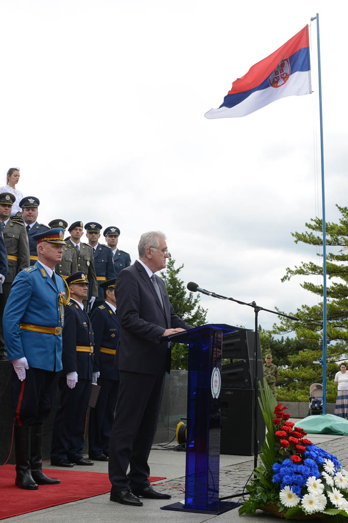 Svečanost povodom završetka Komandno-štabnog usavršavanja