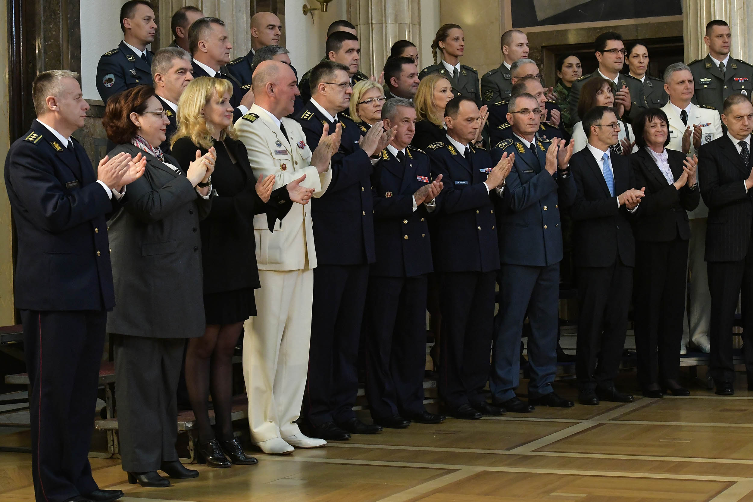 Пријем председника Републике поводом Дана Војске Србије