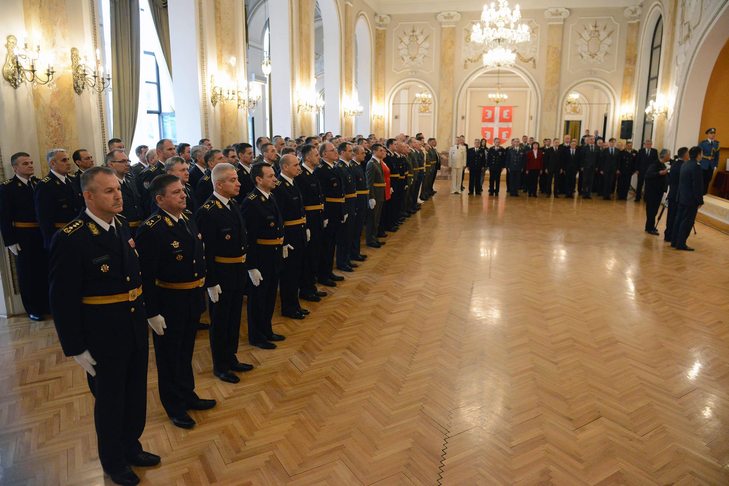 Уручена одликовања поводом Дана државности и Дана Војске Србије