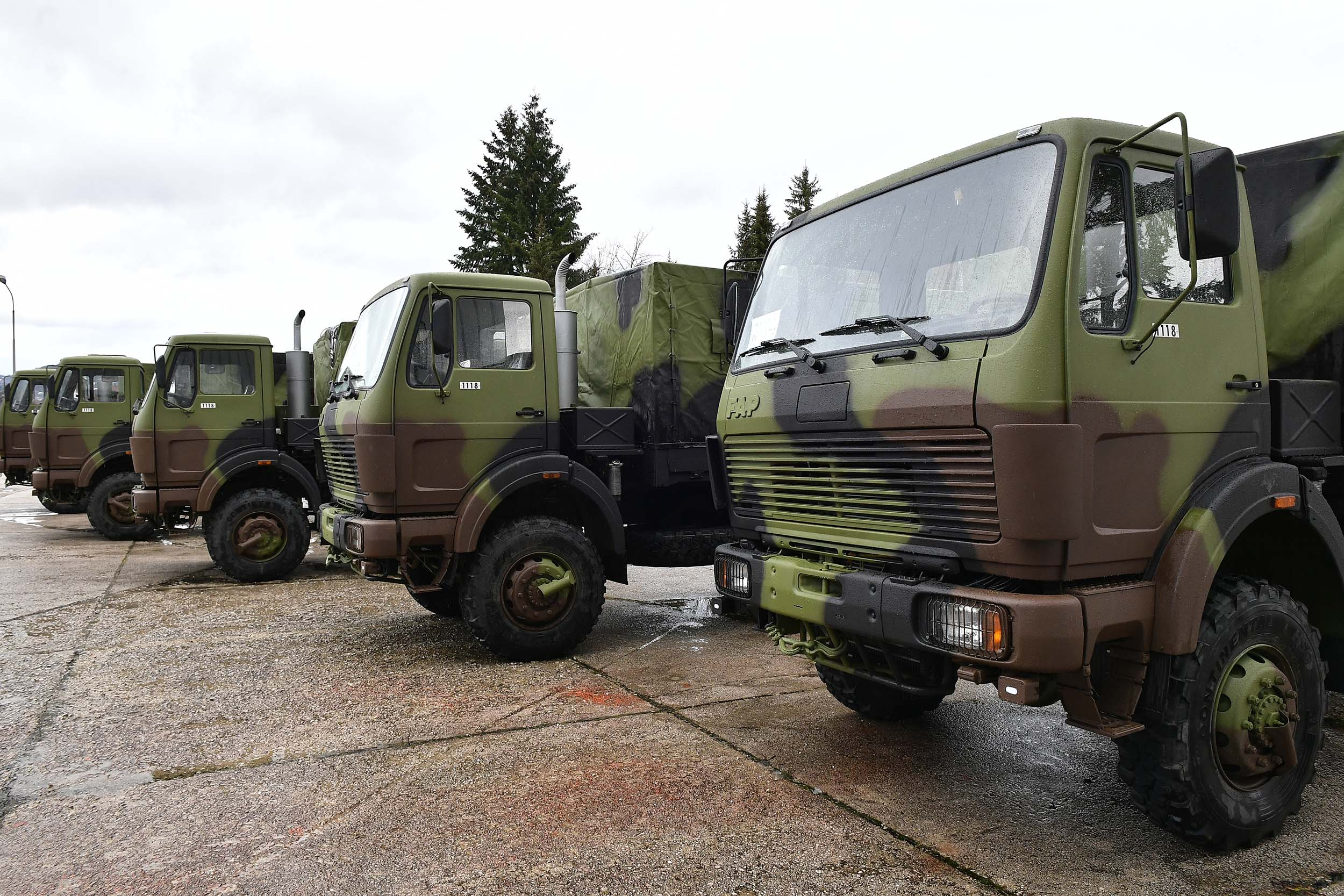 New FAP trucks for the Serbian Armed Forces | Ministry of