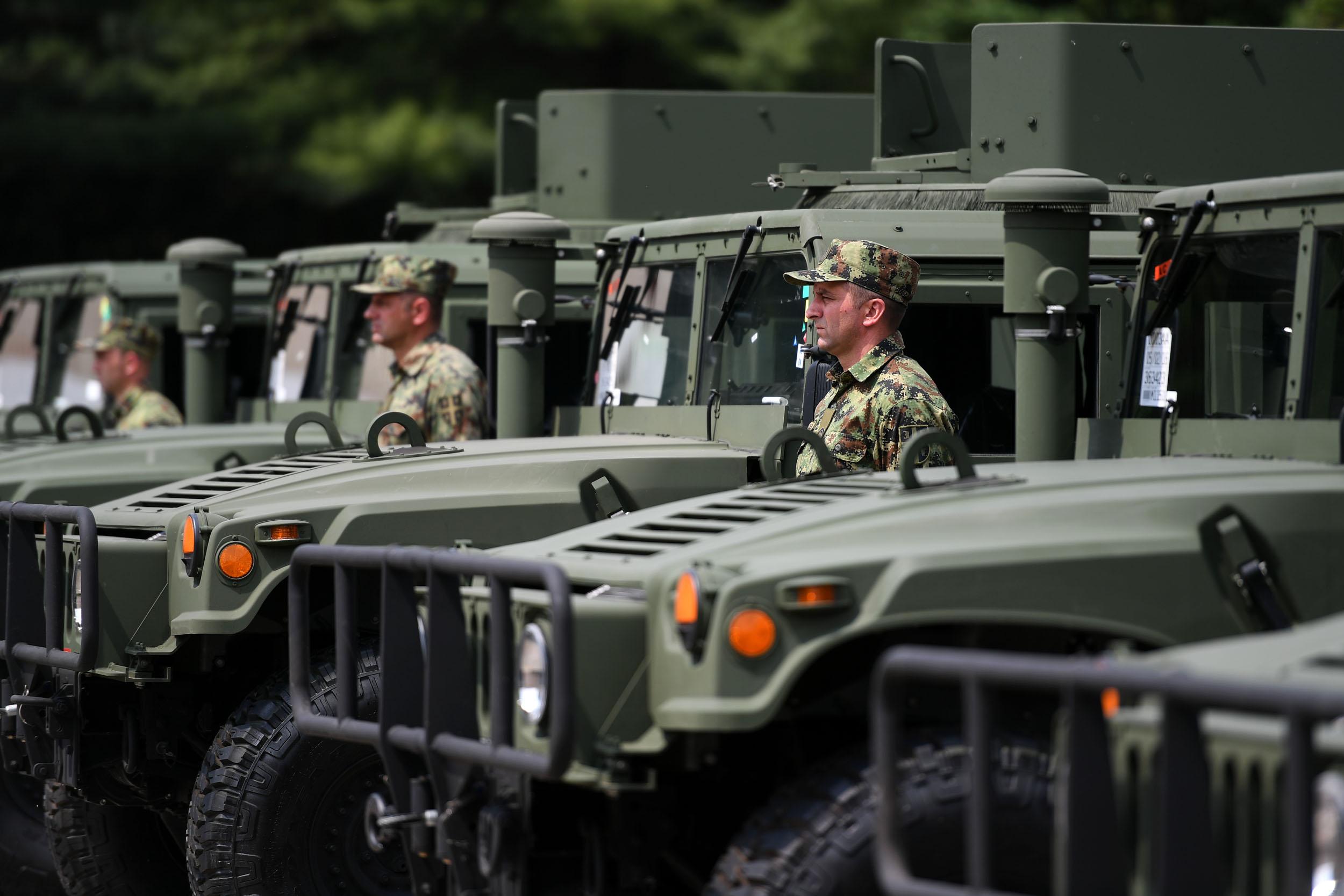 Донација САД за Војску Србије