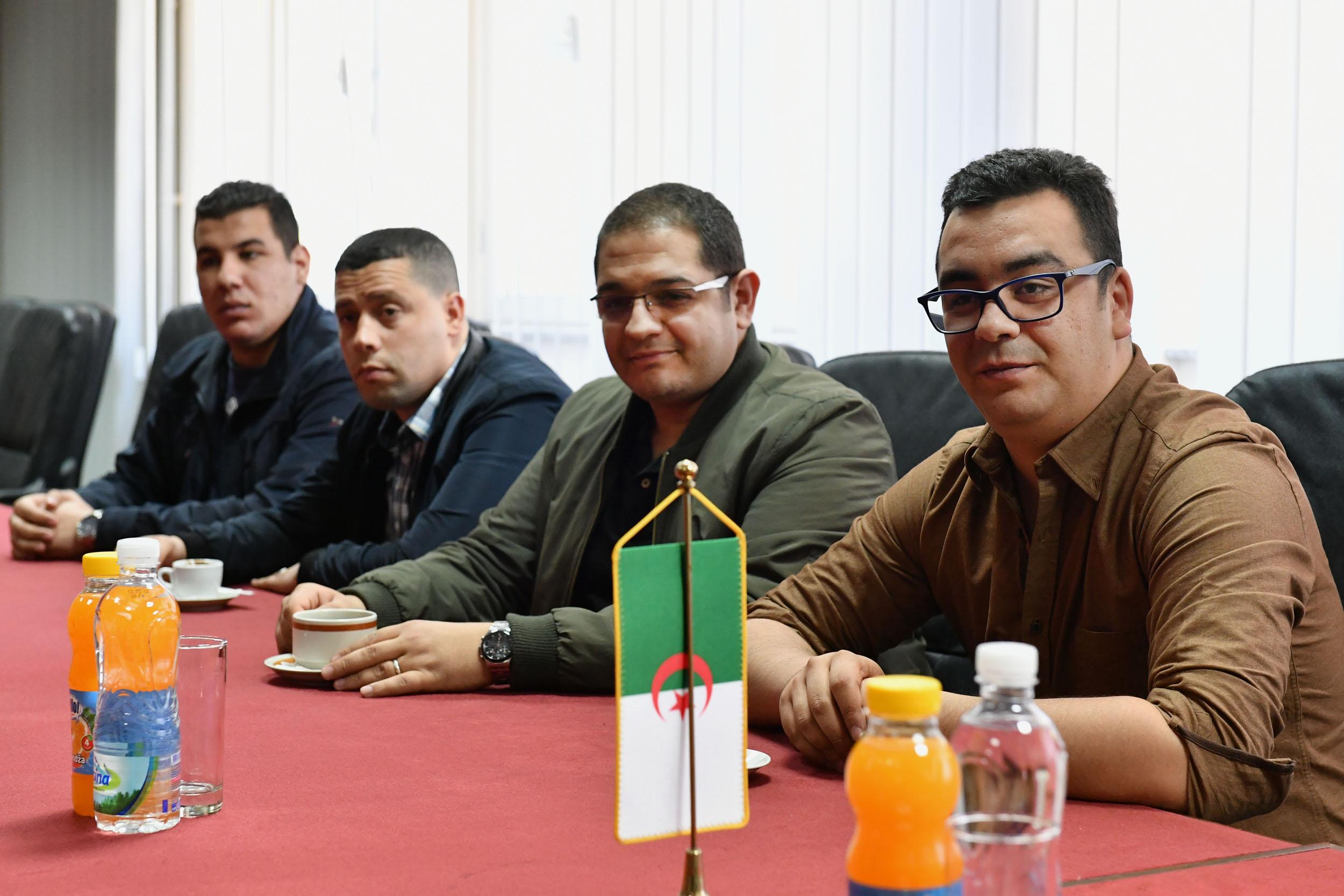Уручење уверења алжирским докторантима