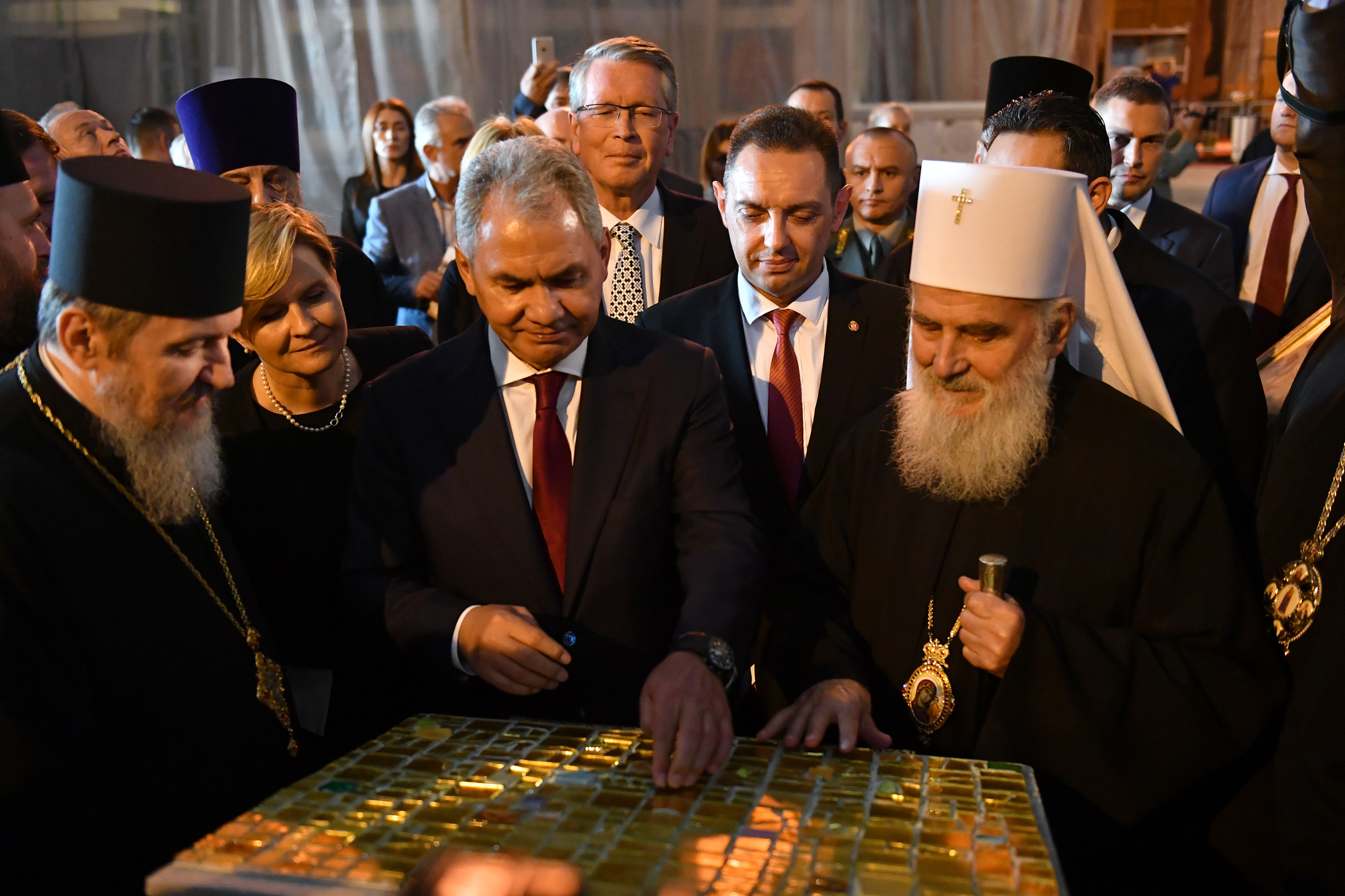 Ministers vulin and shoigu visit church of saint sava ministry of ministers vulin and shoigu visit church of saint sava m4hsunfo