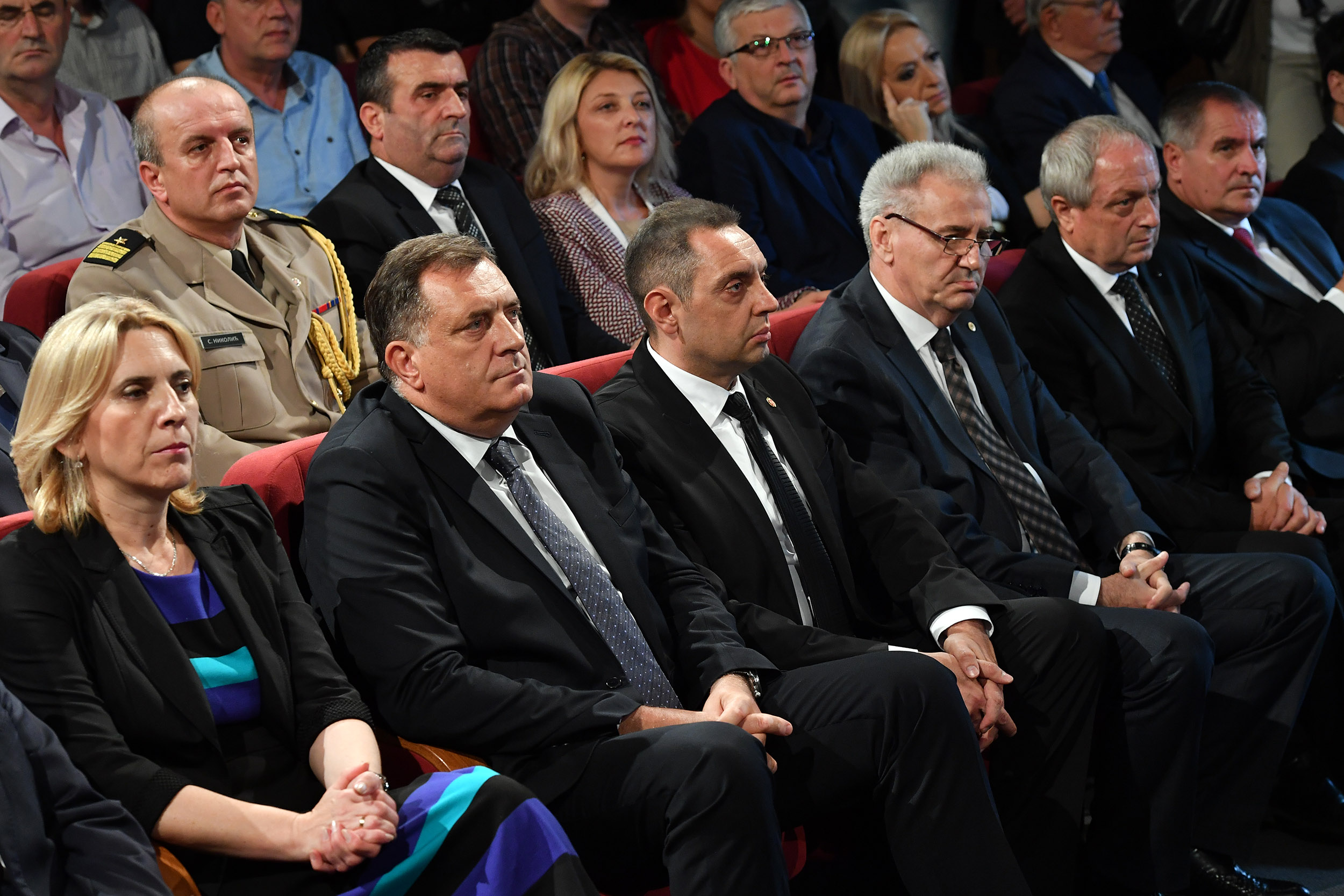 At Least Nobody Was Killed It Was No >> Minister Vulin In Bratunac We Must Never Cease To Remember The
