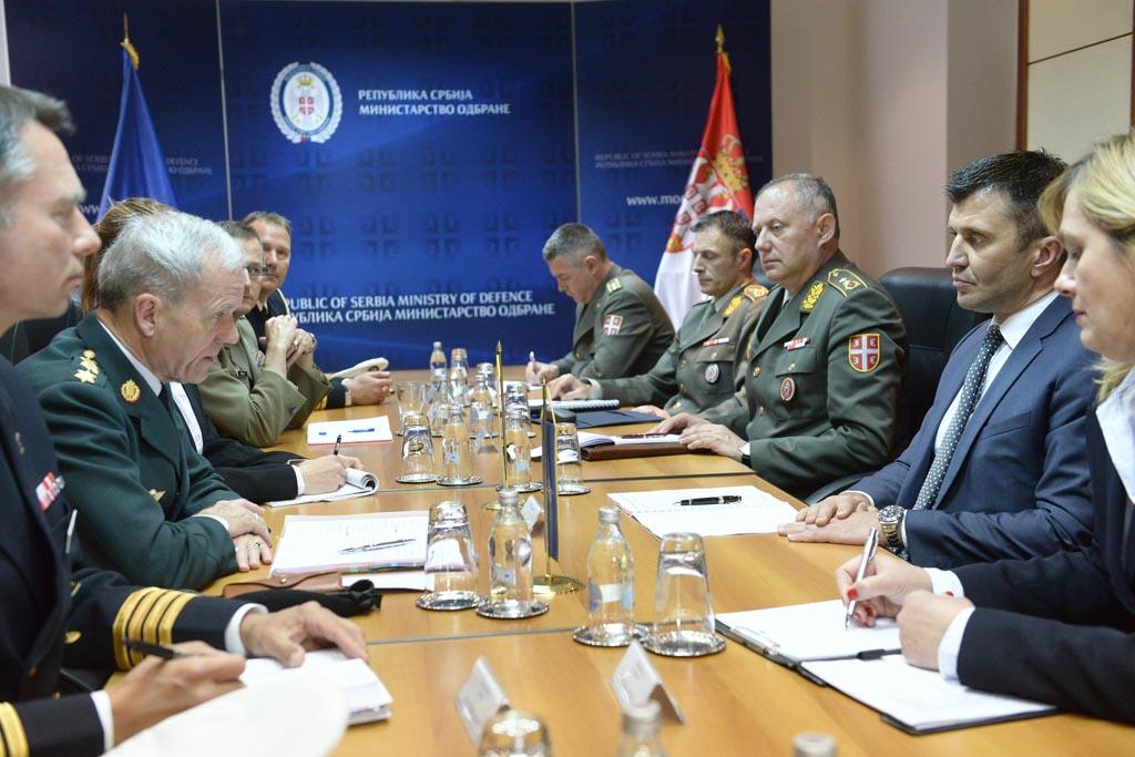 Састанак државног секретара Ђорђевића и генерала Бартелса