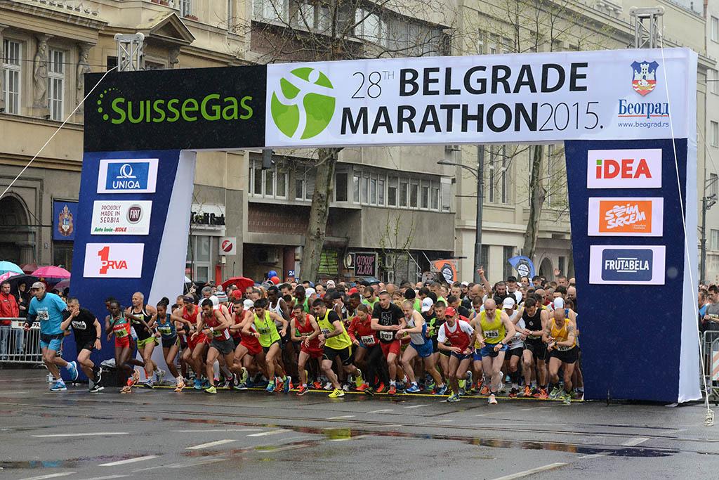 Велики успех наших припадника на 28. Београдском маратону