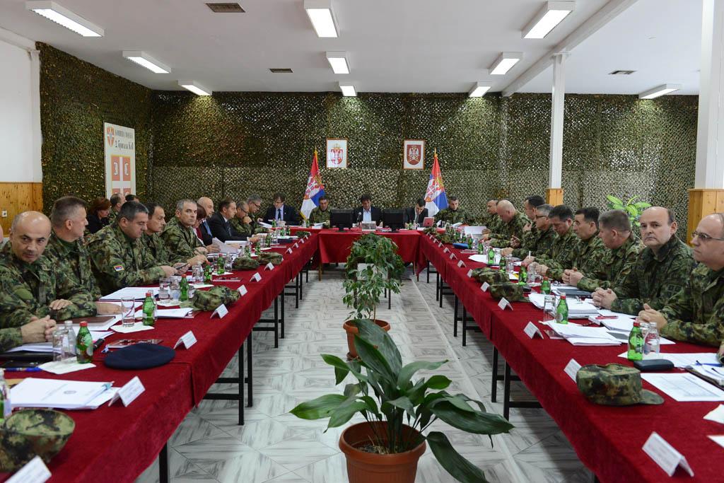 Седница Колегијума министра одбране и начелника Генералштаба