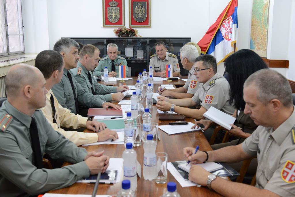 Посета делегације Генералштаба Оружаних снага Руске Федерације