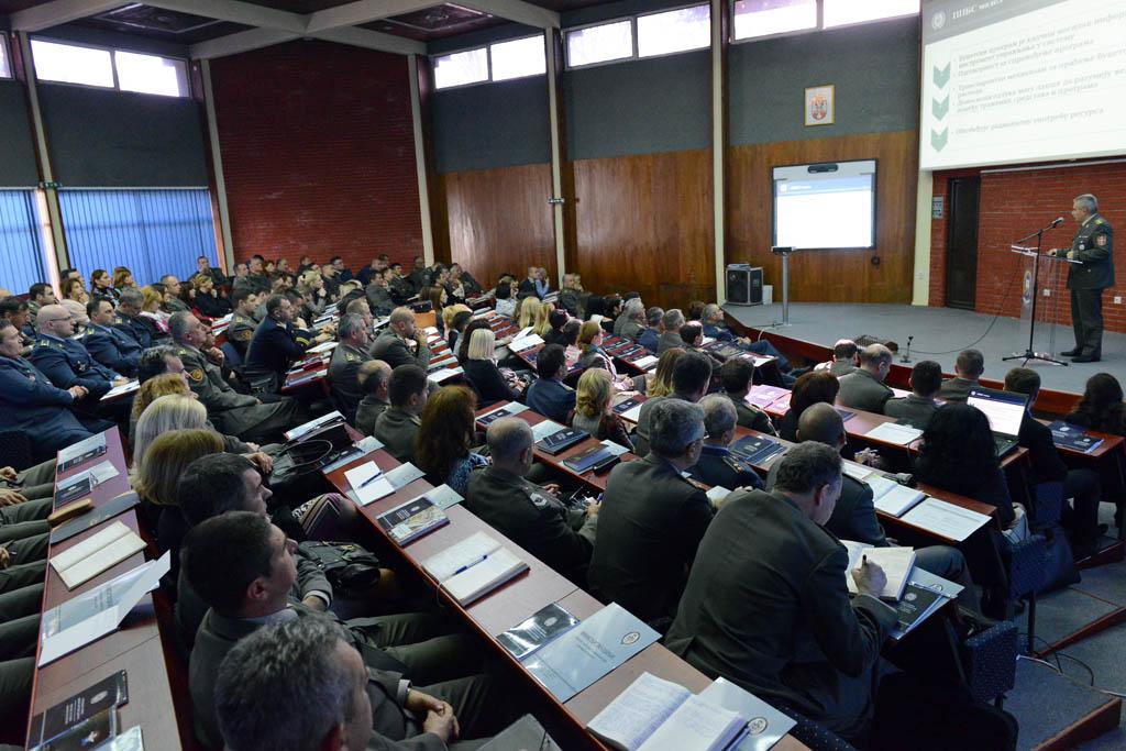Конференција о буџету за 2015. годину у систему одбране