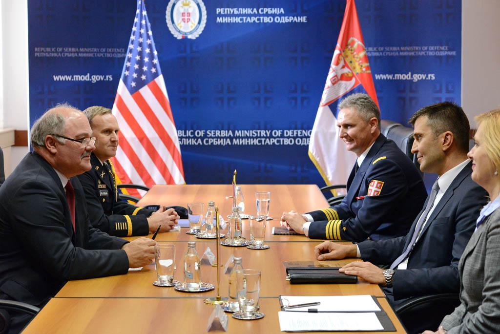 Војна сарадња Србије и Сједињених Америчких Држава