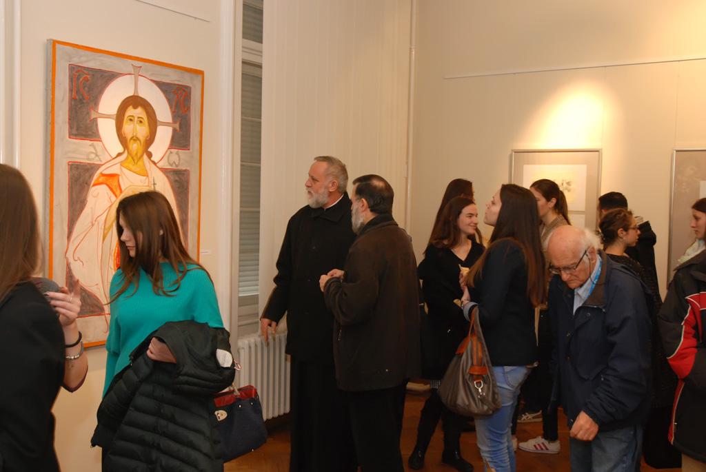 """Отворена изложба """"Рана хришћанска уметност - мозаик, иконе и фреске"""""""""""