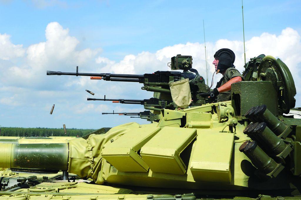 Мајор Нинослав Ђуђић, командир тенковске чете и тенковски биатлонац