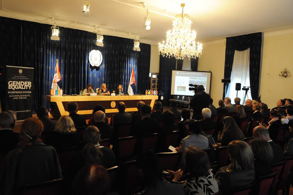 """Отворена међународна конференција """"Родна равноправност у систему одбране"""""""