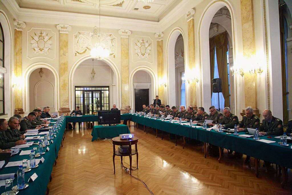 Састанак Радног тима за организацијске промене у Министарству одбране и Војсци Србије