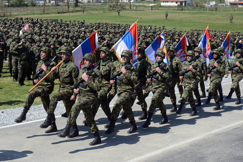 Припреме за централну свечаност поводом Дана Војске у Такову