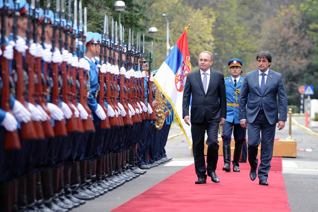 Посета министра одбране Македоније