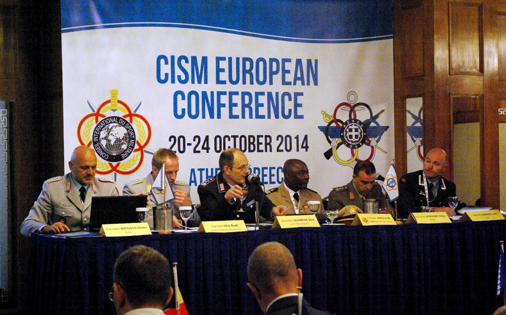 Одржана CISM европска конференција