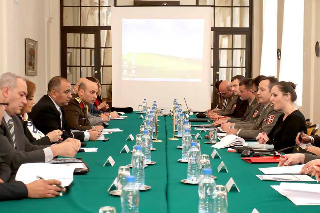 Осмо заседање мешовитог српско-египатског војног комитета