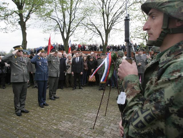 Обележено седам деценија од пробоја Сремског фронта