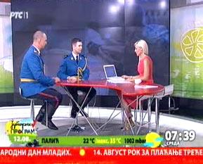 """РТС1 - Јутарњи програм - Гарда у акцији """"Лекар на селу"""""""