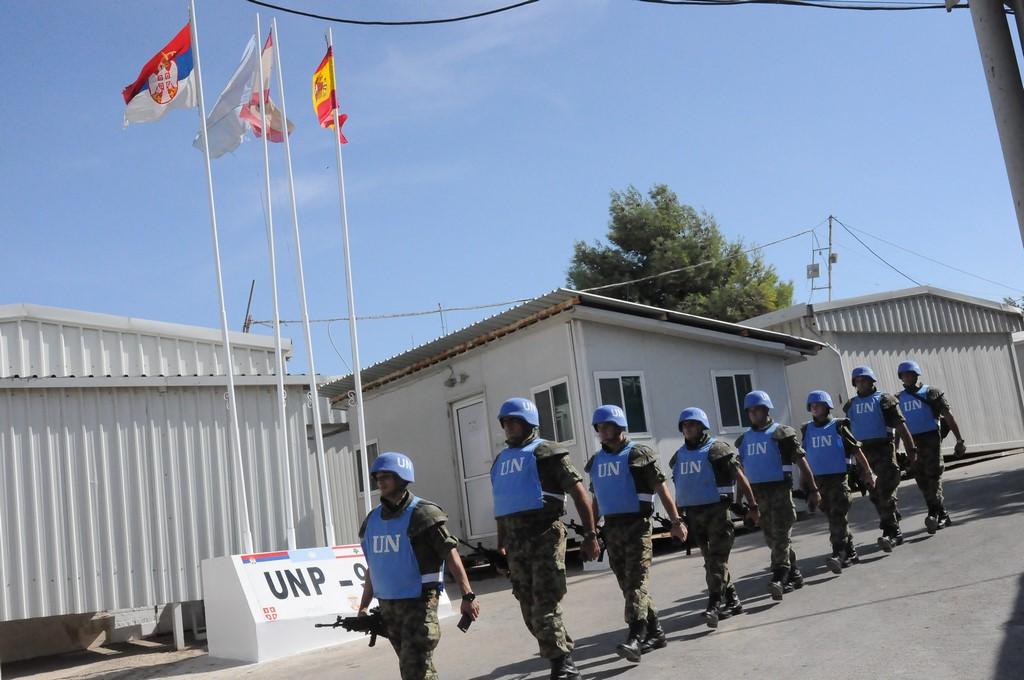 Припадници Војске Србије у  патроли у мисији у Либану